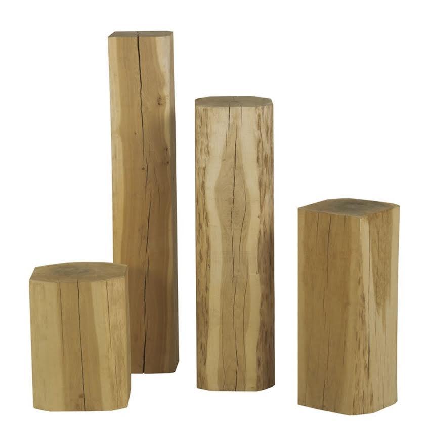 Holz Stehlen holzstele eiche steitz landstil